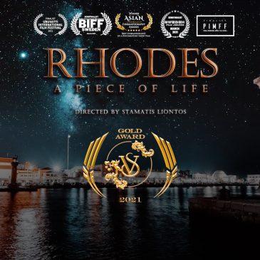 """""""RHODES – A PIECE OF LIFE"""" AWARD WINNER"""
